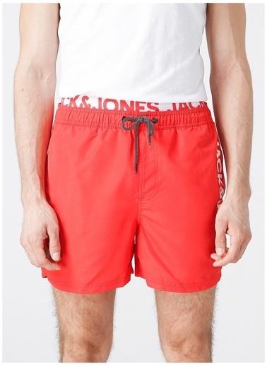 Jack & Jones Jack & Jones Şort Mayo Kırmızı